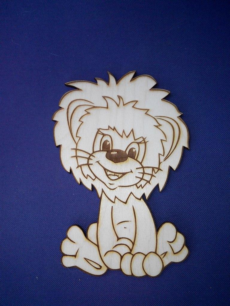 Little lion for children