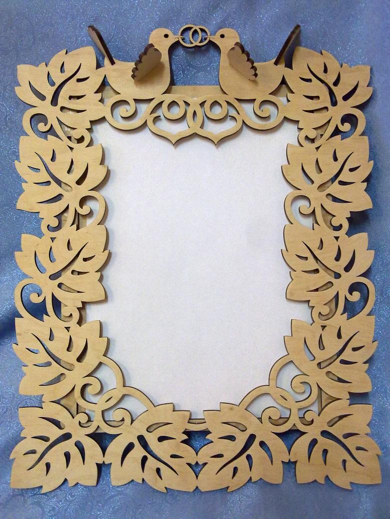 Picture frame decorative ornament