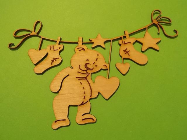 Bear decoration of children's room