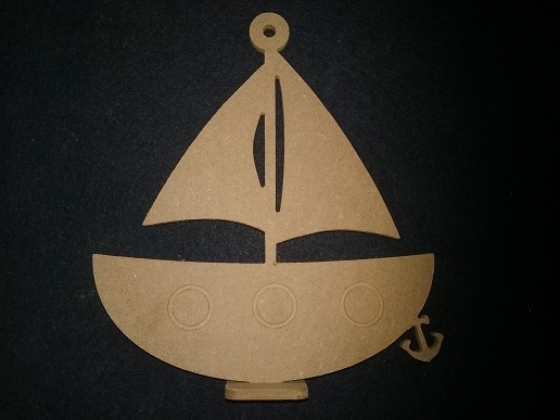 Small boat – File to cut in CNC