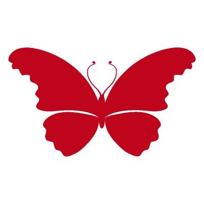 Butterfly 2D vector