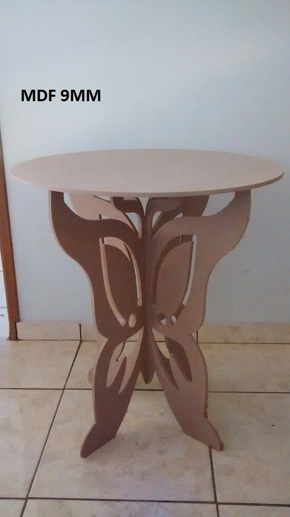 Beautiful butterfly table – DXF laser cutting or milling cnc router