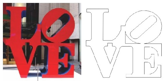 Word love to decorate