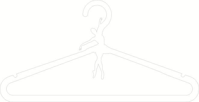 Ballerina hanger