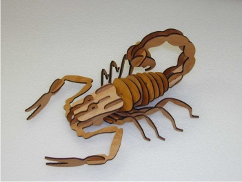 3D Scorpion Puzzle
