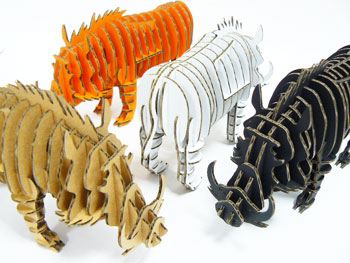3D Mammoth Puzzles