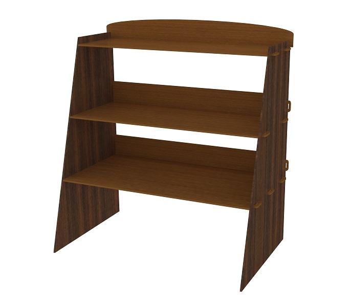 Shelf design in wood