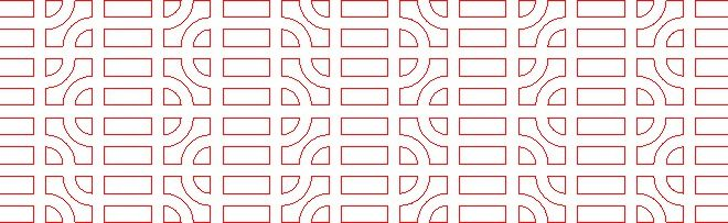Pattern Vector for cutting in cnc router or laser