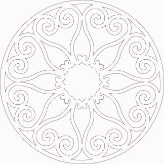 Vector of Mandala