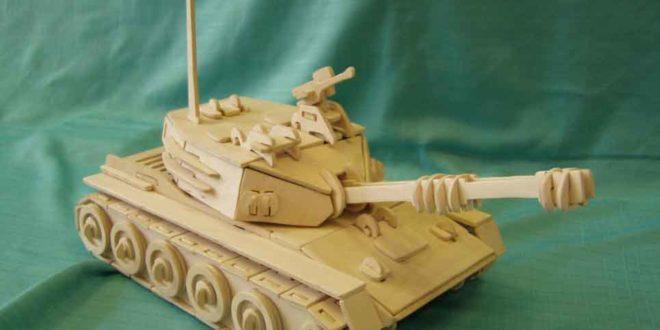 Tank of War 3D Vector