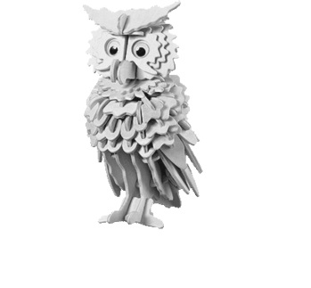 Owl to cut and mount