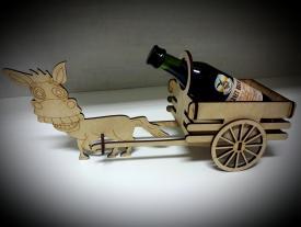 Wine Rack with cart