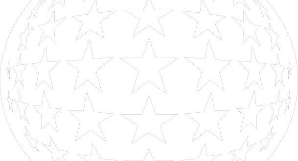 3D star panel
