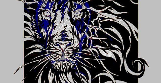 Lion panel