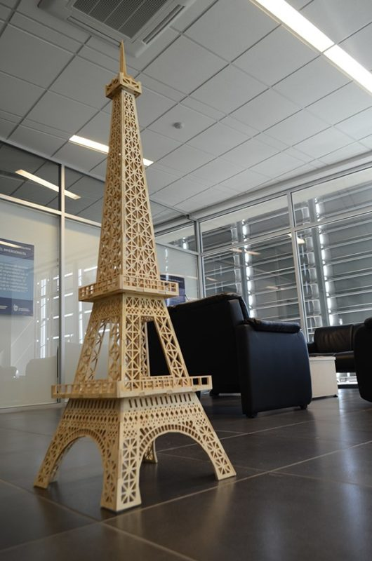 eiffel tower dxf downloads files for laser cutting and. Black Bedroom Furniture Sets. Home Design Ideas
