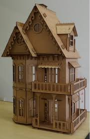 Doll House Dxf Downloads Files For Laser Cutting And Cnc Router