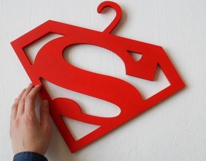 Super man hanger