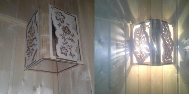 Light fixture corner