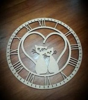 Cats Clock