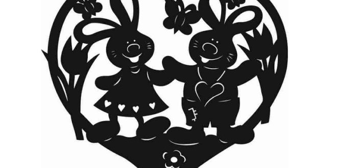 couple of bunnies