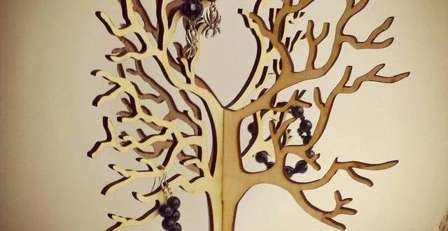 Tree To Store Jewelry Dxf Downloads Files For Laser