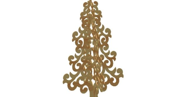Christmas Tree Dxf Downloads Files For Laser Cutting And Cnc Router Artcam Dxf Vectric Aspire Vcarve Mdf Crafts Woodworking