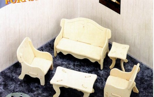 Mini furniture for children