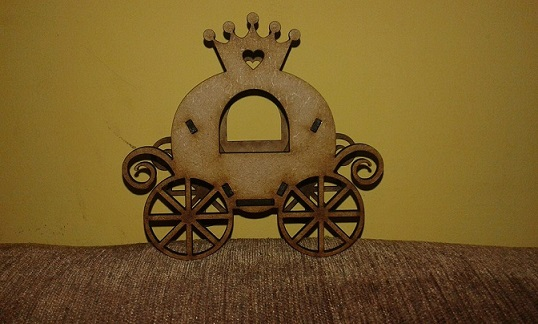 carriage for decoration