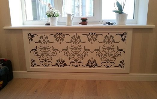 Beautiful cut panel for interior decoration
