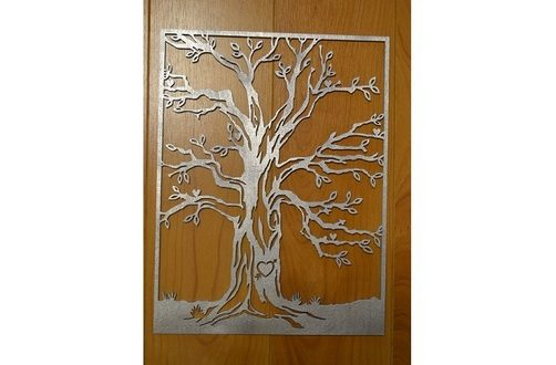 Vector Tree 2D to laser cut