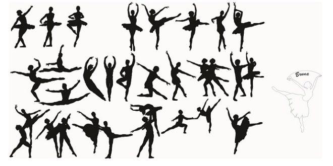 FREE Ballerina silhouette