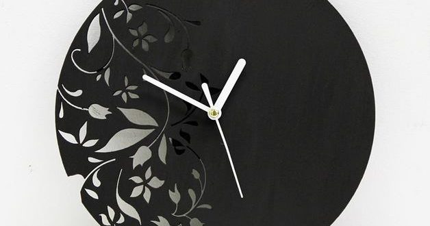 Flower clock – DXF DOWNLOADS – Files for Laser Cutting and CNC