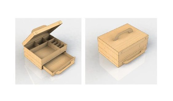 Drawer box 3mm