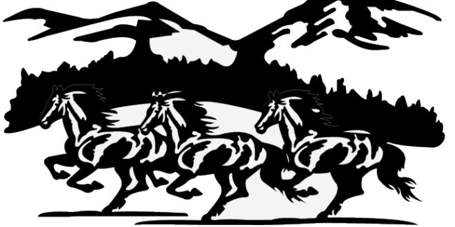 Horse Frame – DXF