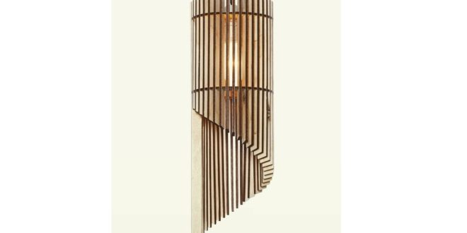 Plywood Lamp 5mm lights