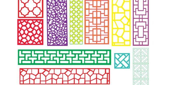 2D Patterns – DXF DOWNLOADS – Files for Laser Cutting and