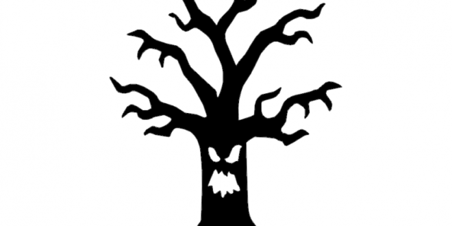 Halloween tree – FREE – DXF DOWNLOADS – Files for Laser Cutting and