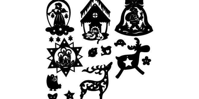 Christmas decoration vectors