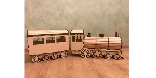Locomotive to laser cut vector in DXF and CDR