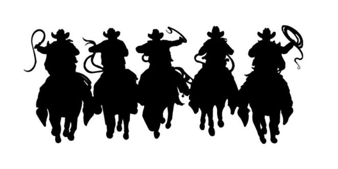 Cowboys Vectors 2D DXF