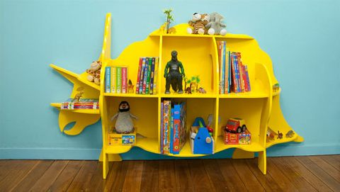 Dinosaur bookcase dxf cdr File