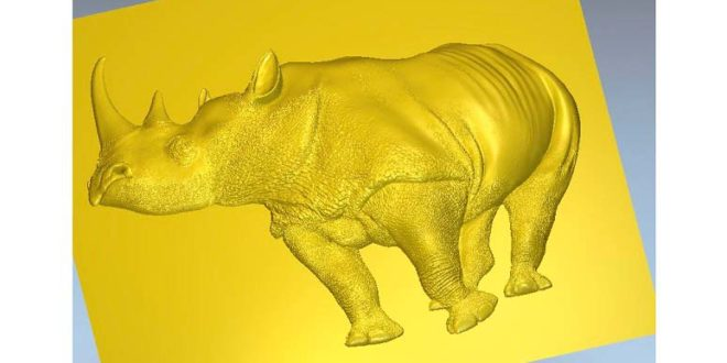 Rhinoceros 3D model to milling in CNC Router STL