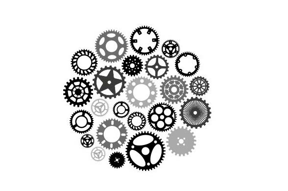 Gears 2d vectors – FREE – DXF DOWNLOADS – Files for Laser