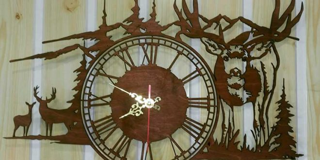 Clock Deer in the mountains