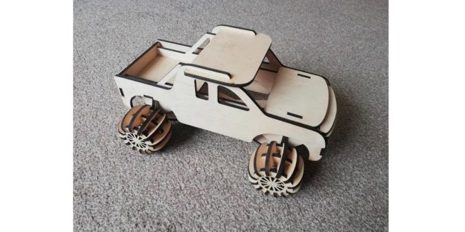 Child rally car – 3mm sheet for laser cutting