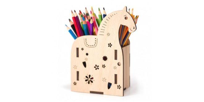 Horse pencil case 3mm