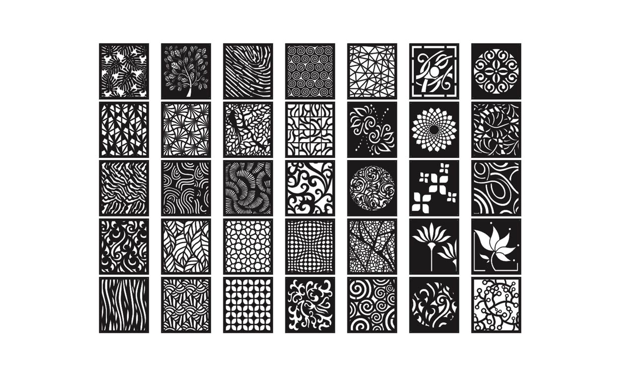 Mega Collection Of 35 Decorative Screen Patterns Dxf Downloads Files For Laser Cutting And Cnc Router Artcam Dxf Vectric Aspire Vcarve Mdf Crafts Woodworking