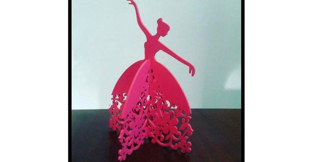 Ballerina ballet dancer for decoration – 2 pieces