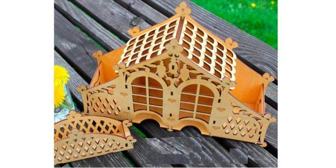 Carved Tea House