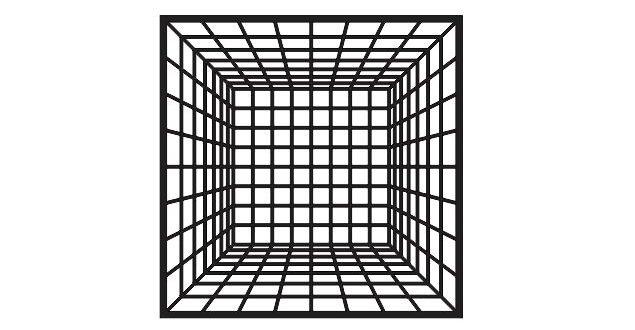 FREE 3D illusion vector acrylic vinyl